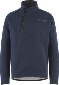 Prana Norcross Crew Fleece Pullover Herre heather grey